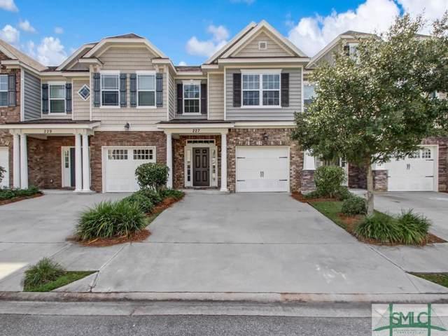 227 Durham Park Way, Pooler, GA 31322 (MLS #215124) :: The Arlow Real Estate Group