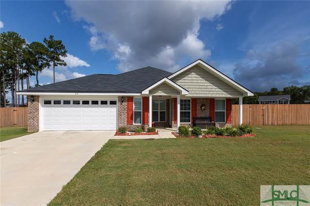 33 Powers Drive, Midway, GA 31320 (MLS #215254) :: Partin Real Estate Team at Better Homes and Gardens Real Estate Legacy