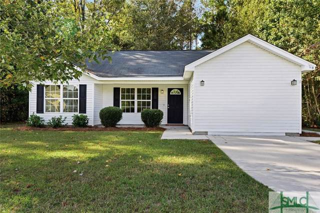 124 Sand Pine Court, Springfield, GA 31329 (MLS #215262) :: The Arlow Real Estate Group
