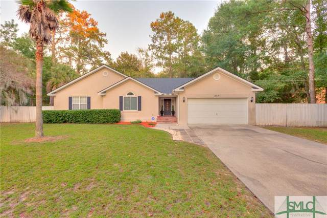347 Felt Drive, Savannah, GA 31419 (MLS #215849) :: McIntosh Realty Team