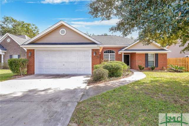 410 Gravel Way, Bloomingdale, GA 31302 (MLS #215867) :: The Arlow Real Estate Group