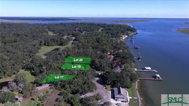 Lot 20 Sutherland Bluff Drive NE, Townsend, GA 31331 (MLS #215878) :: Keller Williams Coastal Area Partners