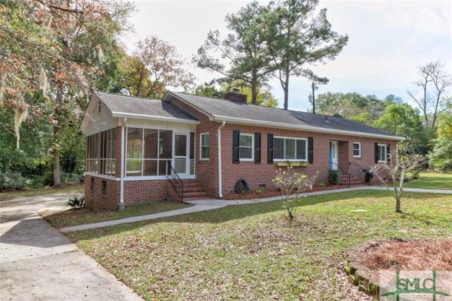 605 Early Street, Springfield, GA 31329 (MLS #215927) :: The Arlow Real Estate Group