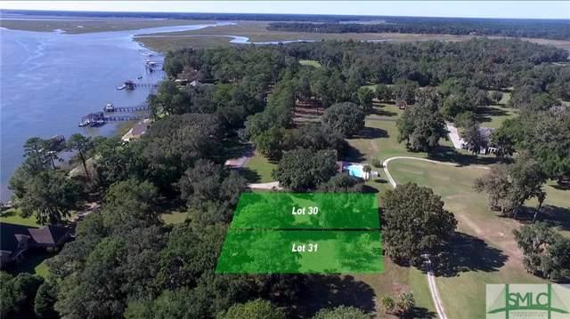 Lot 30 Sutherland Bluff Drive, Townsend, GA 31331 (MLS #215960) :: Keller Williams Coastal Area Partners