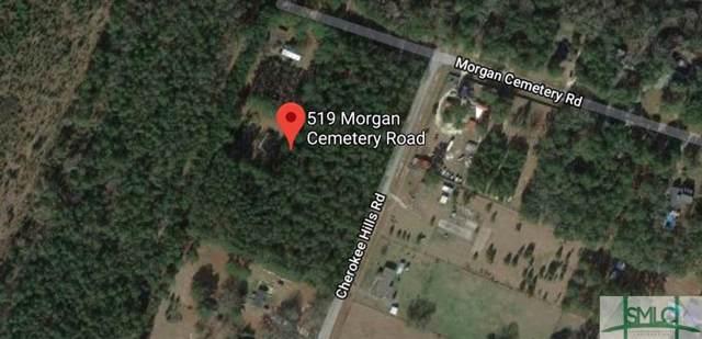 519 Morgan Cemetery Road, Clyo, GA 31303 (MLS #216017) :: The Arlow Real Estate Group