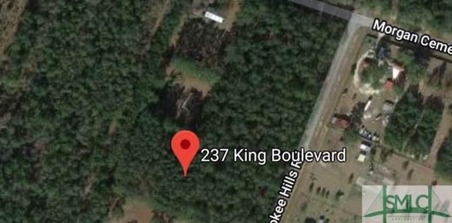 237 King Boulevard, Clyo, GA 31303 (MLS #216187) :: The Arlow Real Estate Group