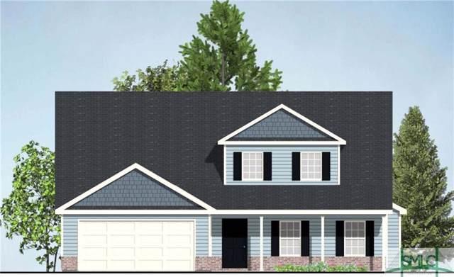 123 Taylor Drive, Guyton, GA 31312 (MLS #216305) :: Level Ten Real Estate Group