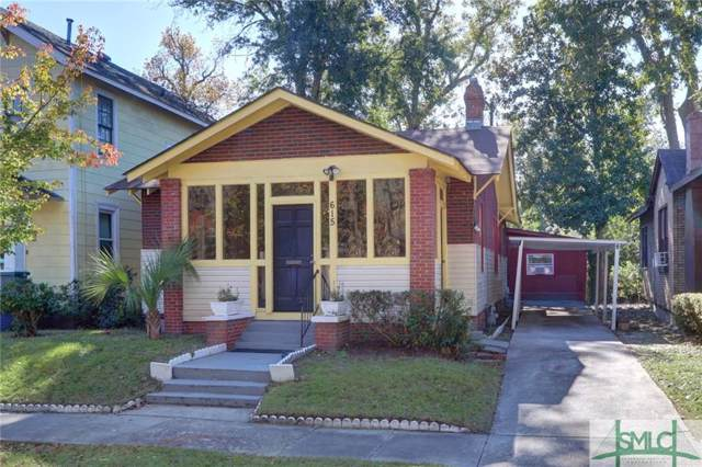 615 Seiler Avenue, Savannah, GA 31401 (MLS #216403) :: The Arlow Real Estate Group