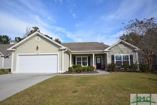 63 Gateway Drive, Pooler, GA 31322 (MLS #216532) :: Heather Murphy Real Estate Group