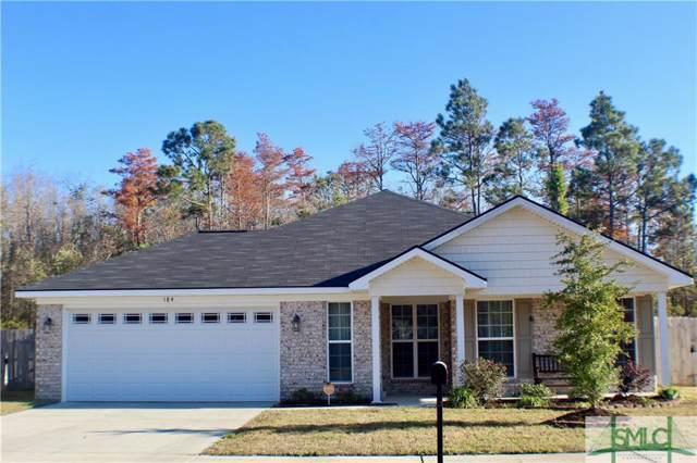 184 Grandview Drive, Hinesville, GA 31313 (MLS #216651) :: The Randy Bocook Real Estate Team