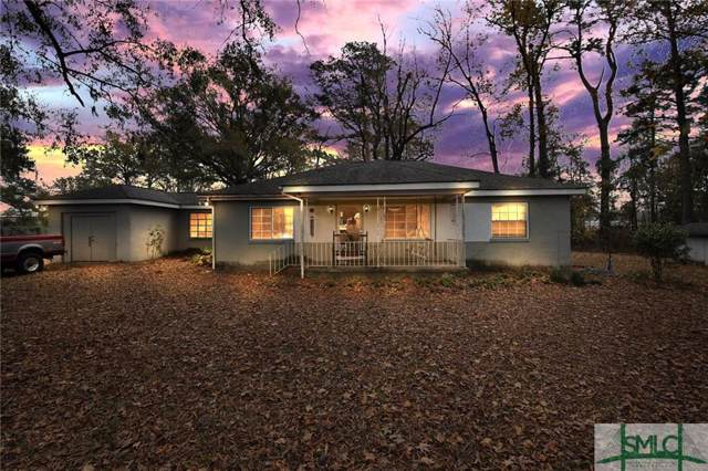 204 Dean Forest Road, Garden City, GA 31408 (MLS #216825) :: Partin Real Estate Team at Better Homes and Gardens Real Estate Legacy
