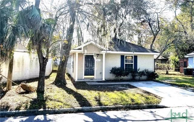 411 Emmit Street, Savannah, GA 31405 (MLS #216834) :: The Randy Bocook Real Estate Team