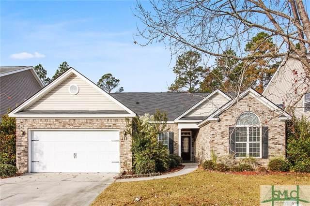 115 Lake House Road, Pooler, GA 31322 (MLS #216915) :: The Arlow Real Estate Group