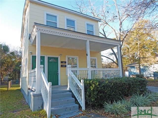 321,323 Forrest Avenue, Savannah, GA 31404 (MLS #216947) :: Liza DiMarco