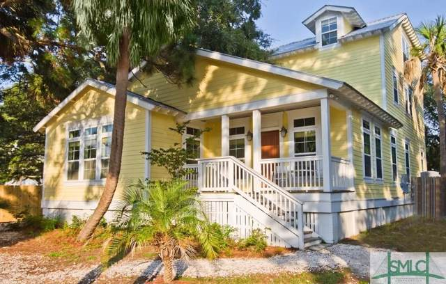 110 Miller Avenue, Tybee Island, GA 31328 (MLS #217021) :: Heather Murphy Real Estate Group
