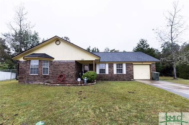 822 Waterfield Drive, Hinesville, GA 31313 (MLS #217186) :: Teresa Cowart Team