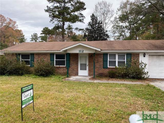 112 E Whatley Street, Pooler, GA 31322 (MLS #217301) :: RE/MAX All American Realty