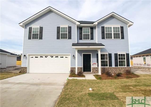 144 Alcott Circle, Hinesville, GA 31313 (MLS #217349) :: The Randy Bocook Real Estate Team