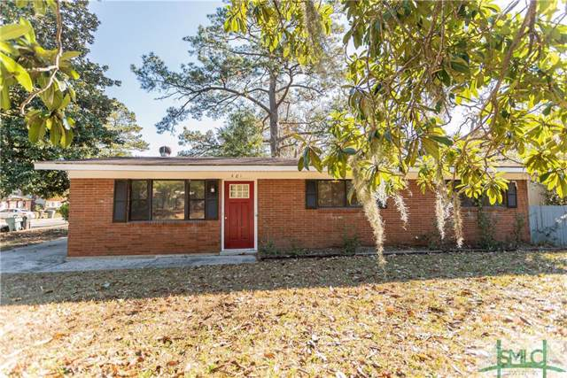 401 Valentine Drive, Savannah, GA 31406 (MLS #218113) :: Level Ten Real Estate Group