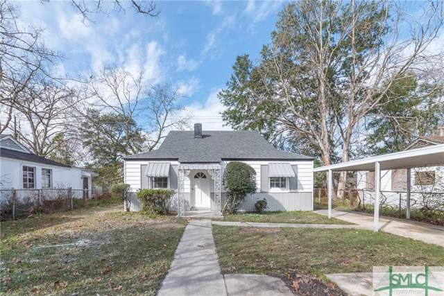 1007 Cubbedge Street, Savannah, GA 31415 (MLS #218168) :: The Arlow Real Estate Group