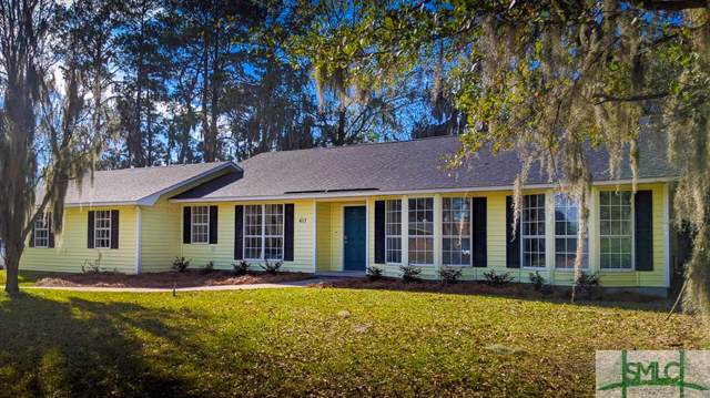417 Phillips Avenue, Port Wentworth, GA 31407 (MLS #218173) :: The Arlow Real Estate Group