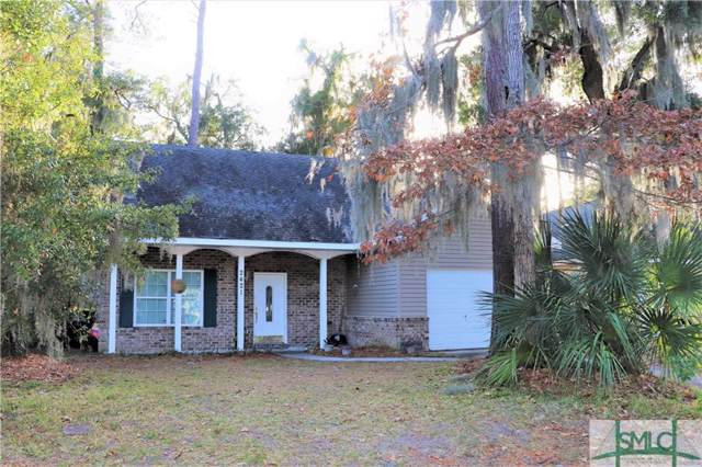 2421 Riviera Drive, Savannah, GA 31406 (MLS #218227) :: Liza DiMarco