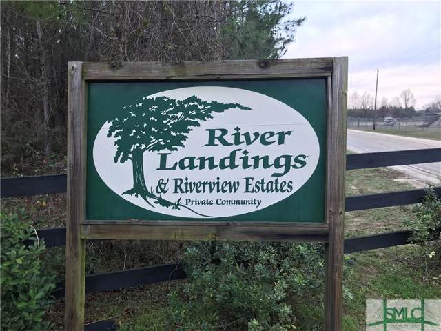 Lot 17 River Landing, Midville, GA 30441 (MLS #218480) :: Glenn Jones Group | Coldwell Banker Access Realty