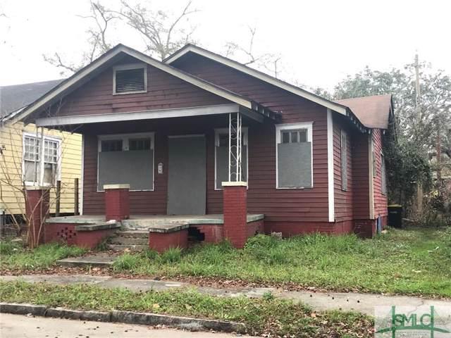 920 Seiler Avenue, Savannah, GA 31401 (MLS #218571) :: Robin Lance Realty