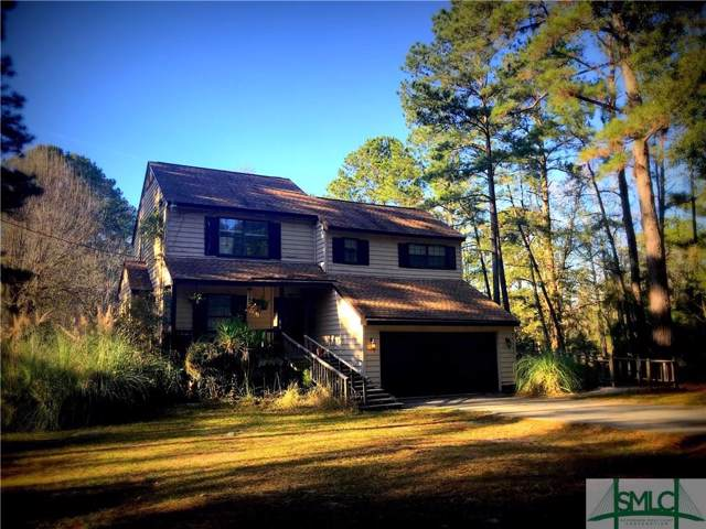 147 E Poncell Drive, Midway, GA 31320 (MLS #218616) :: The Arlow Real Estate Group