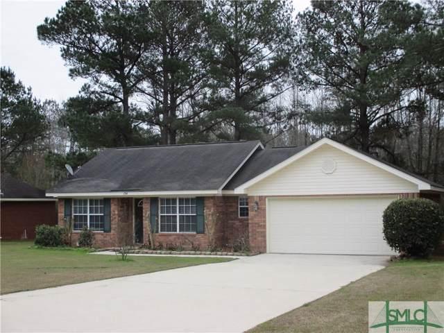 154 Jennifer Circle, Rincon, GA 31326 (MLS #218789) :: The Arlow Real Estate Group