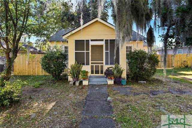 607 W 59th Street, Savannah, GA 31405 (MLS #218822) :: The Arlow Real Estate Group