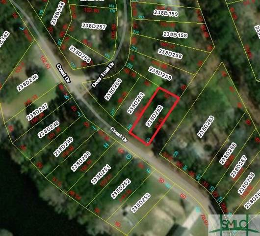 Lot 219 Court Drive, Midway, GA 31320 (MLS #218926) :: Liza DiMarco