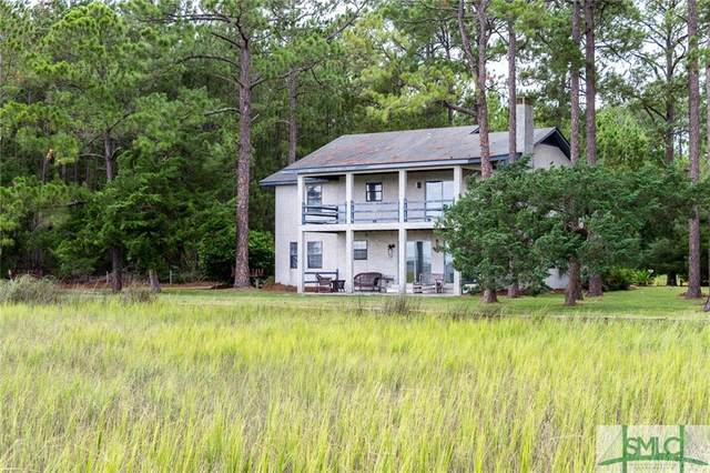 544 Cattle Hammock Road, Midway, GA 31320 (MLS #219231) :: Bocook Realty
