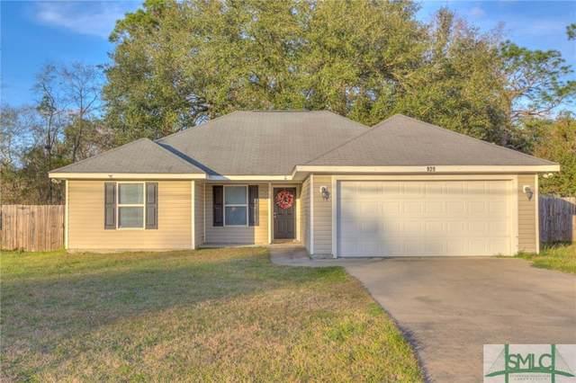 929 Pineland Avenue, Hinesville, GA 31313 (MLS #219640) :: Bocook Realty