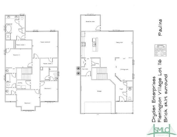 145 Hamlet Court, Hinesville, GA 31313 (MLS #219712) :: Keller Williams Coastal Area Partners