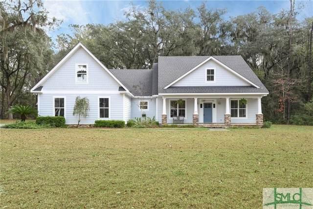 4777 Belfast River Road, Richmond Hill, GA 31324 (MLS #219752) :: Coastal Savannah Homes