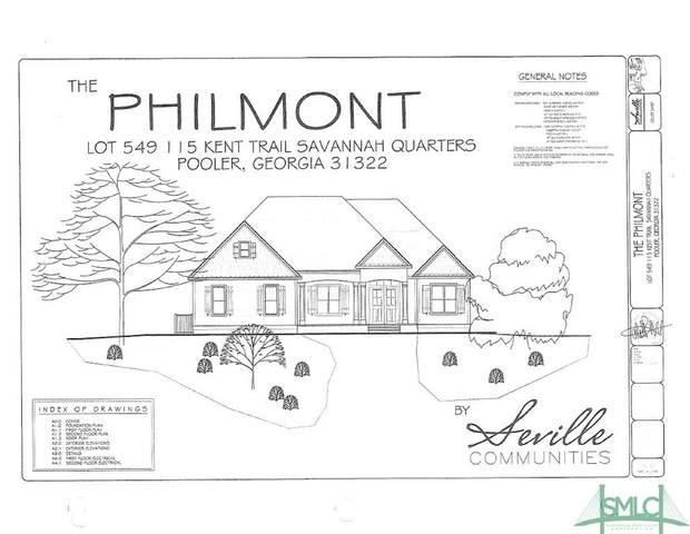 115 Kent Trail, Pooler, GA 31322 (MLS #219837) :: Heather Murphy Real Estate Group
