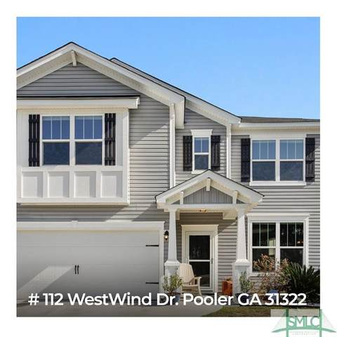 112 Westwind Drive, Pooler, GA 31322 (MLS #219936) :: The Arlow Real Estate Group