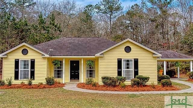 155 Woods Drive, Guyton, GA 31312 (MLS #220040) :: The Arlow Real Estate Group