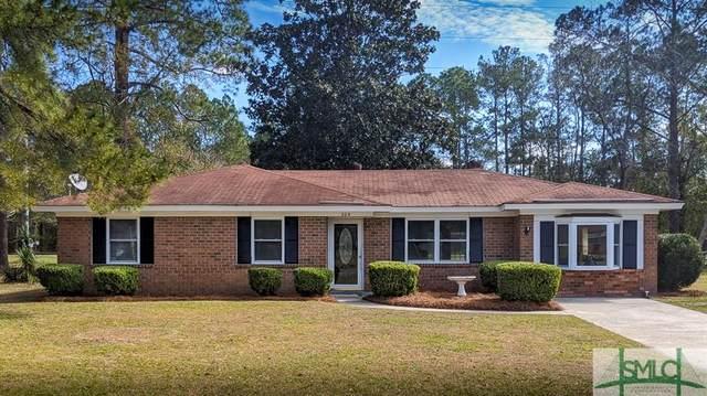 204 Pineview Street, Hinesville, GA 31313 (MLS #220212) :: Bocook Realty