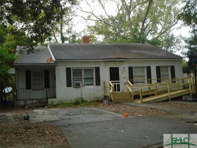 1216 E 54 Street, Savannah, GA 31404 (MLS #220284) :: The Arlow Real Estate Group
