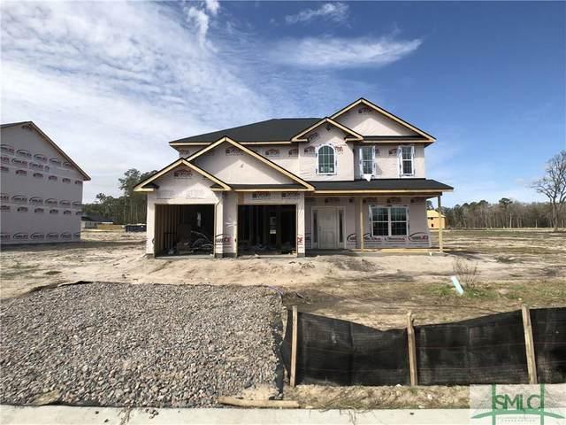 390 Rutledge Circle, Hinesville, GA 31313 (MLS #220469) :: Teresa Cowart Team