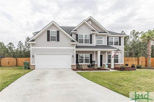 1443 Evergreen Trail, Hinesville, GA 31313 (MLS #220751) :: Coastal Homes of Georgia, LLC