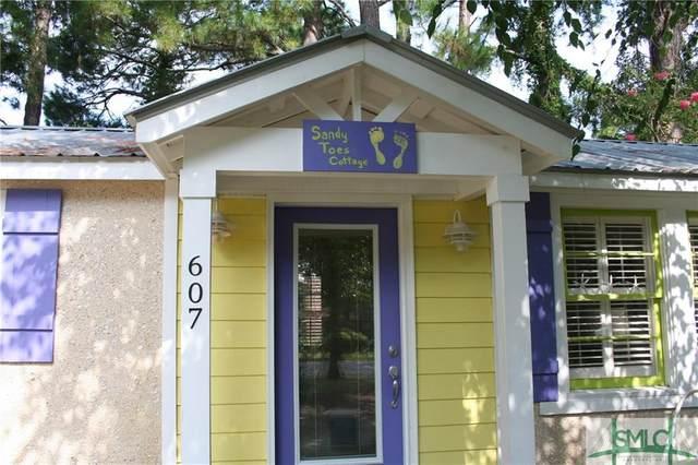 607 Jones Avenue, Tybee Island, GA 31328 (MLS #220944) :: Liza DiMarco