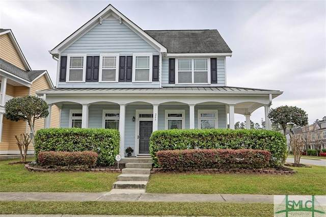 245 Clearwater Circle, Port Wentworth, GA 31407 (MLS #221376) :: Bocook Realty