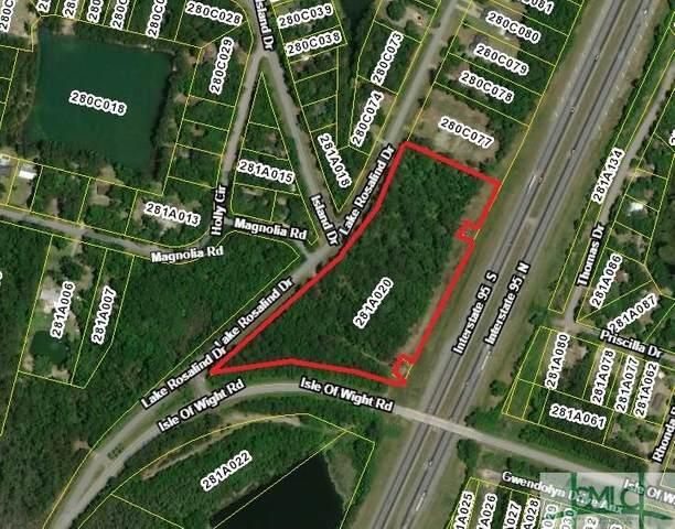 0 Lake Rosalind Drive, Midway, GA 31320 (MLS #221473) :: Keller Williams Realty Coastal Area Partners