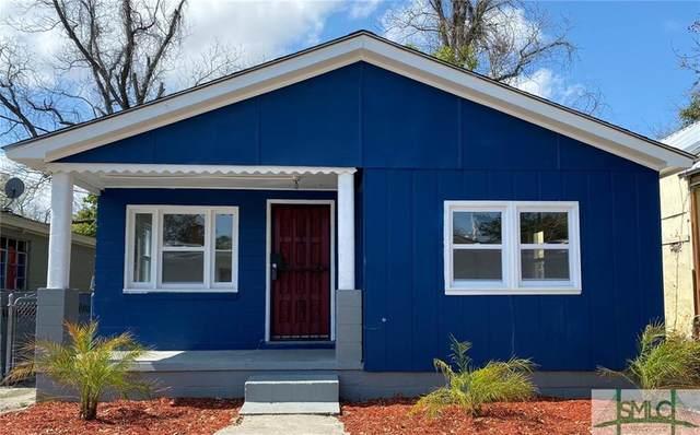 1513 Vine Street, Savannah, GA 31401 (MLS #221482) :: The Arlow Real Estate Group