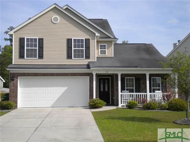 24 Glenwood Court, Pooler, GA 31322 (MLS #221829) :: The Arlow Real Estate Group
