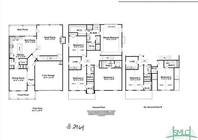 155 Laguna Way, Savannah, GA 31405 (MLS #222080) :: Heather Murphy Real Estate Group