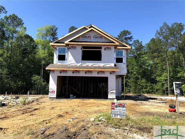 106 Hamlet Court, Hinesville, GA 31313 (MLS #222418) :: Heather Murphy Real Estate Group